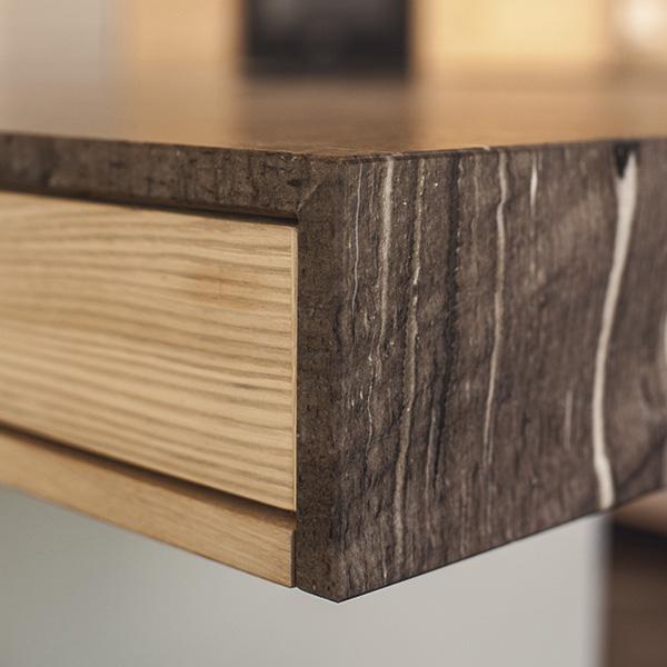 Holzfreude | Holz Linoleum Küche