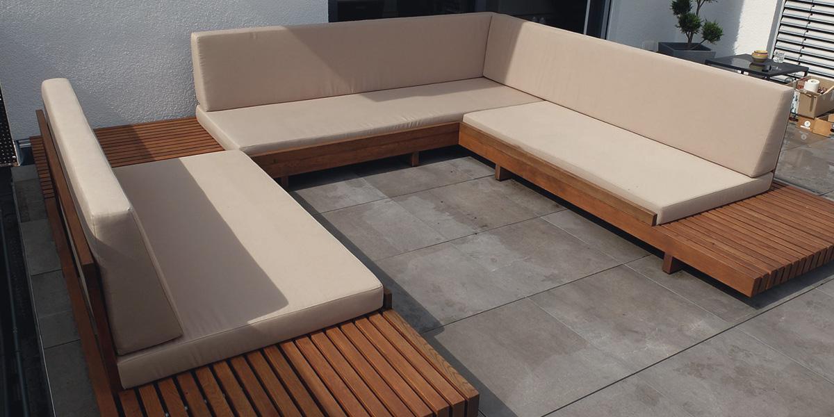 Holzfreude Terrassen Loungemöbel In Eiche