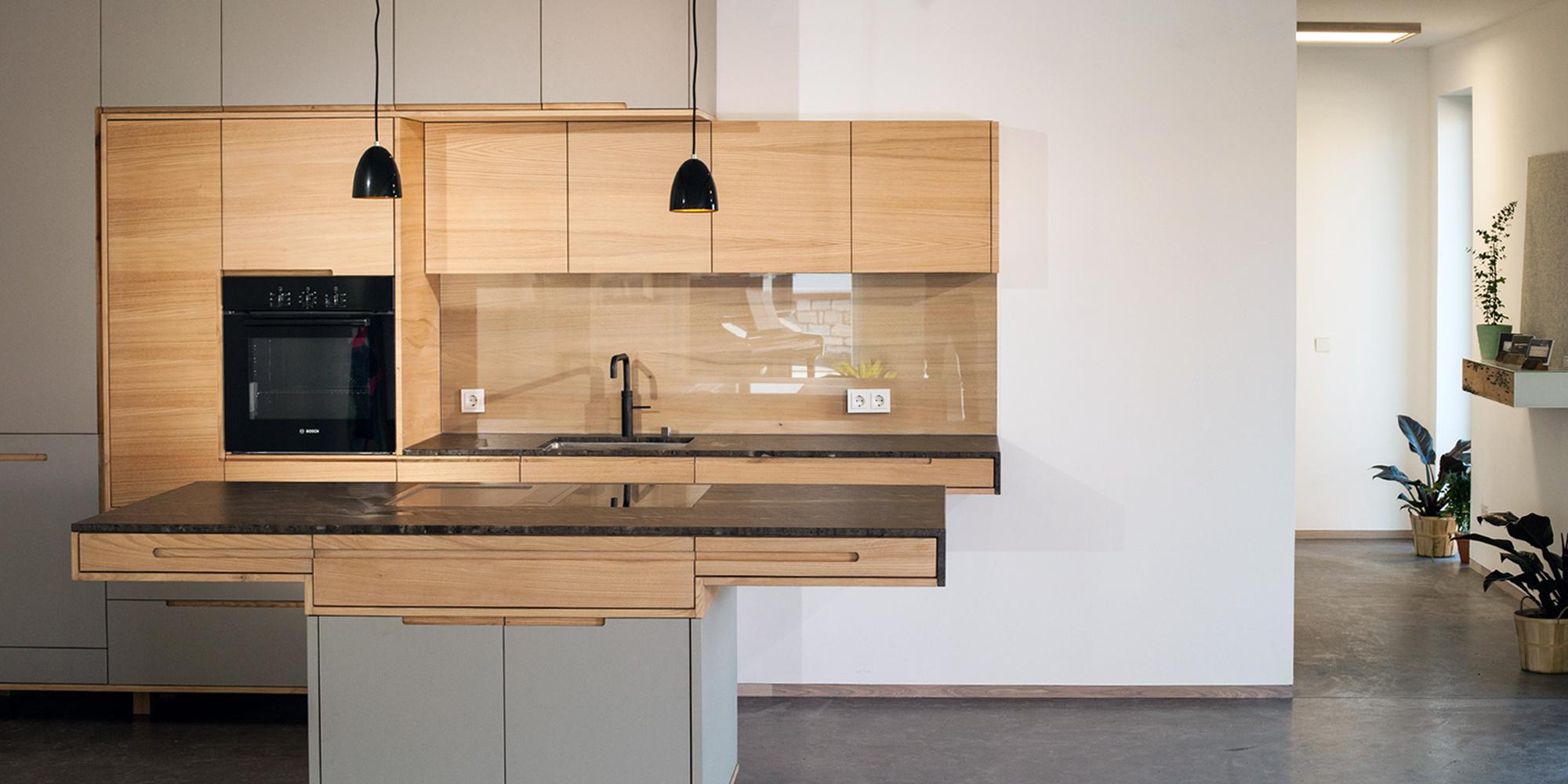 Küchenzeile Modell Muflon